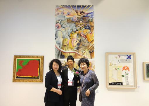 002・ヨンさんと韓国人作家と自作前・510.jpg