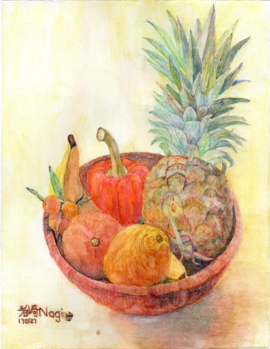 003・完成「パイナップル果物籠」・510.jpg