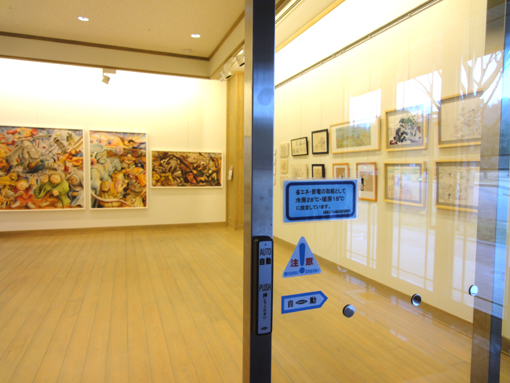 009・入口から見る岩崎ナギ作品・510.jpg