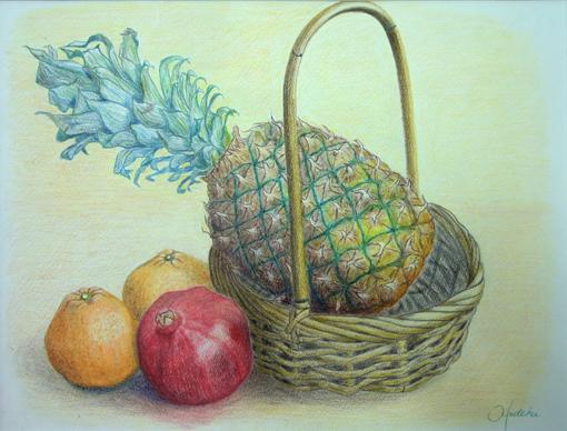 デ2・霜尾秀樹「果物とバスケット」・2013年度秋季.JPG