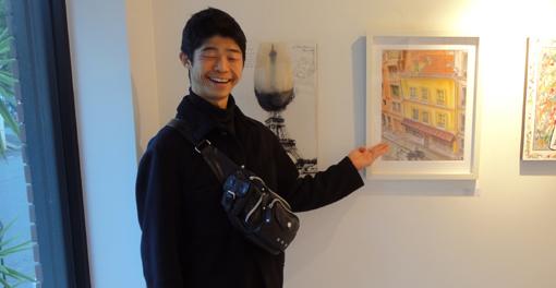 001・岩崎ナギと自作「ダンフェール・ロシュロー」・510.jpg